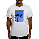 Winter Bald Eagle Light T-Shirt