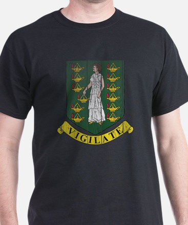 British Virgin Islands Coat Of Arms T-Shirt