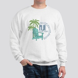 Phi Gamma Delta Palm Chair Personalized Sweatshirt