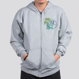 Phi Gamma Delta Palm Chair Personalized Zip Hoodie