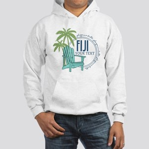 Phi Gamma Delta Palm Chair Perso Hooded Sweatshirt
