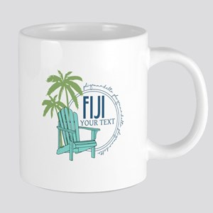 Phi Gamma Delta Palm Chair 20 oz Ceramic Mega Mug