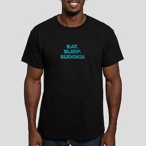 SUDOKU. Men's Fitted T-Shirt (dark)