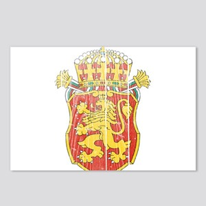 Bulgaria Lesser Coat Of Arms Postcards (Package of