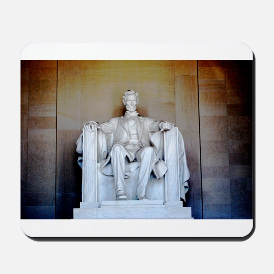 Lincoln Statue Mousepad