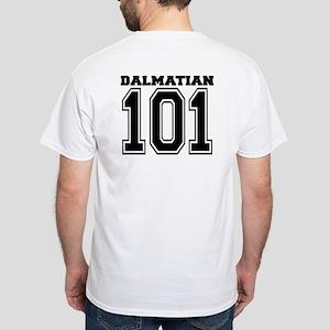 Dalmatian SPORT White T-Shirt