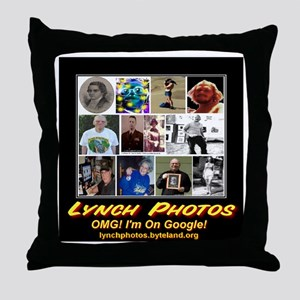 Lynch Photos Throw Pillow