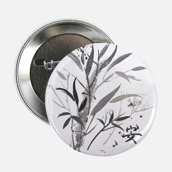 """Bamboo Garden 2.25"""" Button"""