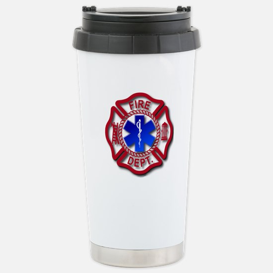 Matlese Cross and Star of Life Stainless Steel Tra