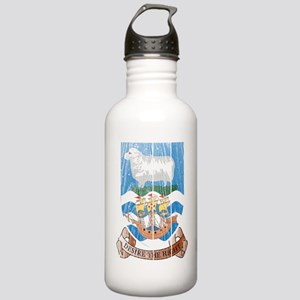 Falkland Islands Coat Of Arms Stainless Water Bott