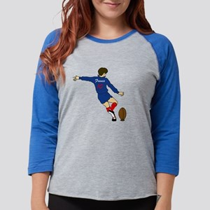 French Rugby Womens Baseball Tee