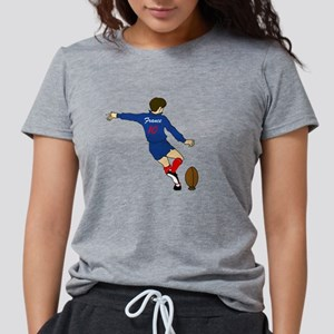 French Rugby Womens Tri-blend T-Shirt