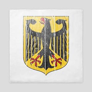 Germany Coat Of Arms Queen Duvet