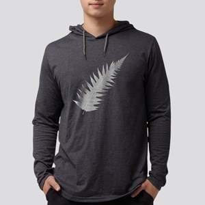 Silver Fern Aotearoa Mens Hooded Shirt