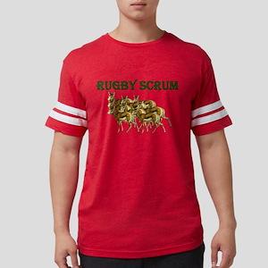 Springbok Rugby Scrum Mens Football Shirt