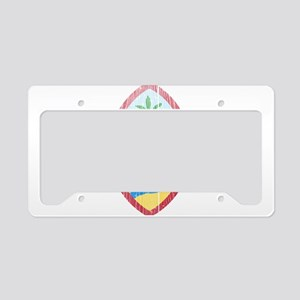 Guam Coat Of Arms License Plate Holder