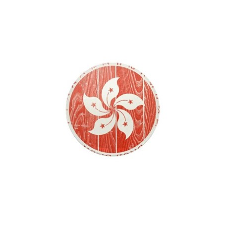 Hong Kong Coat Of Arms Mini Button (10 pack)