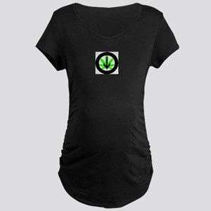Under the Influence Maternity Dark T-Shirt