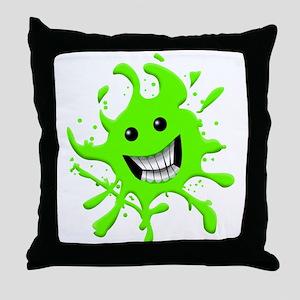 Slime Throw Pillow