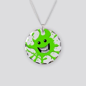 Slime Necklace Circle Charm