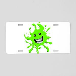 Slime Aluminum License Plate
