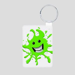 Slime Aluminum Photo Keychain