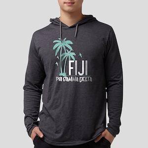 Phi Gamma Delta Palms Mens Hooded Shirt