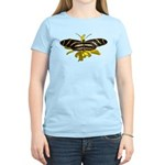 BLack & White Butterfly Women's Light T-Shirt