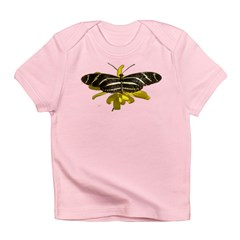BLack & White Butterfly Infant T-Shirt