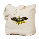 BLack & White Butterfly Tote Bag