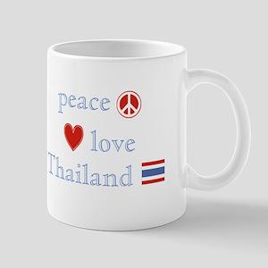 Peace Love and Thailand Mug
