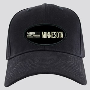 Black Flag: Minnesota Black Cap with Patch