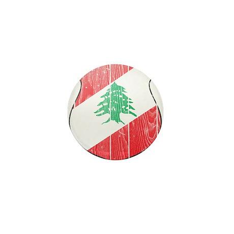 Lebanon Coat Of Arms Mini Button (100 pack)