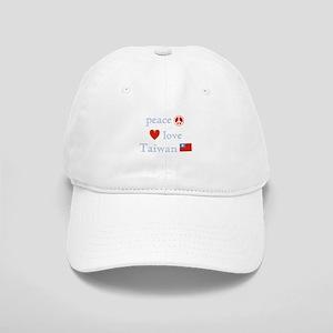 Peace Love and Taiwan Cap