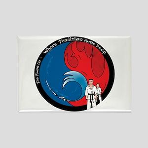 Martial Arts Rectangle Magnet