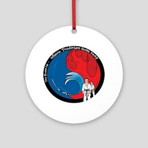 Martial Arts Ornament (Round)