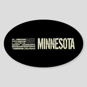 Black Flag: Minnesota Sticker (Oval)