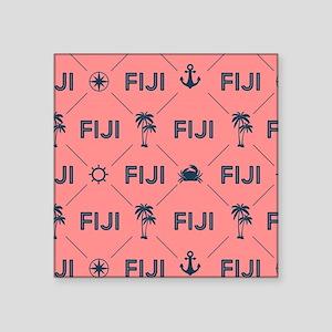 """Phi Gamma Delta Pattern Cor Square Sticker 3"""" x 3"""""""