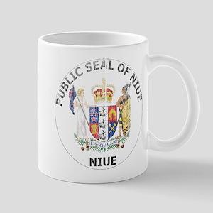 Niue Coat Of Arms Mug