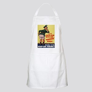 World War II Patriotic Poster BBQ Apron