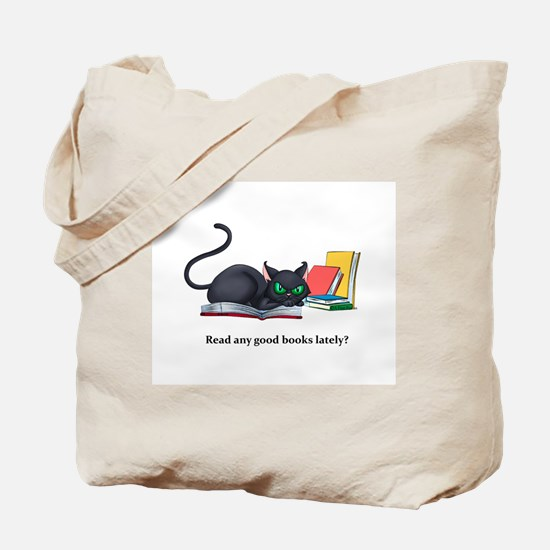 Read any good books lately? Tote Bag