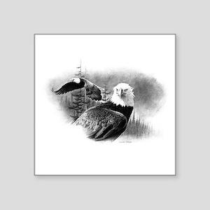"""Eagles Square Sticker 3"""" x 3"""""""