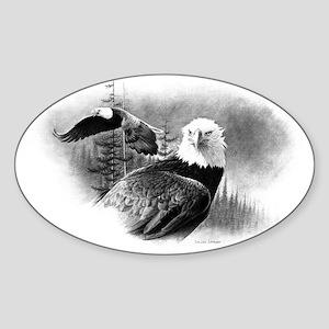 Eagles Sticker (Oval)