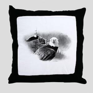 Eagles Throw Pillow