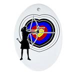 Archery5 Ornament (Oval)