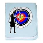 Archery5 baby blanket