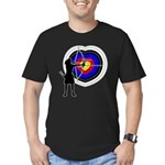 Archery5 Men's Fitted T-Shirt (dark)