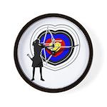 Archery5 Wall Clock