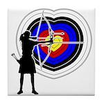 Archery5 Tile Coaster