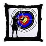 Archery5 Throw Pillow